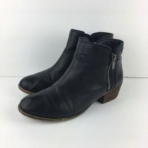 Lucky Brand Short Black Booties